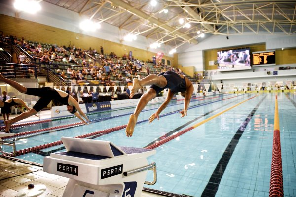 HBF Stadium, PerthDay 2 of the Australian Masters Championships saw Merrylands' Team win 3 medals, swim 1 new PB and 5 season best times.