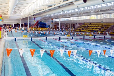Merrylands' swimmers will compete at two different meets this weekend.